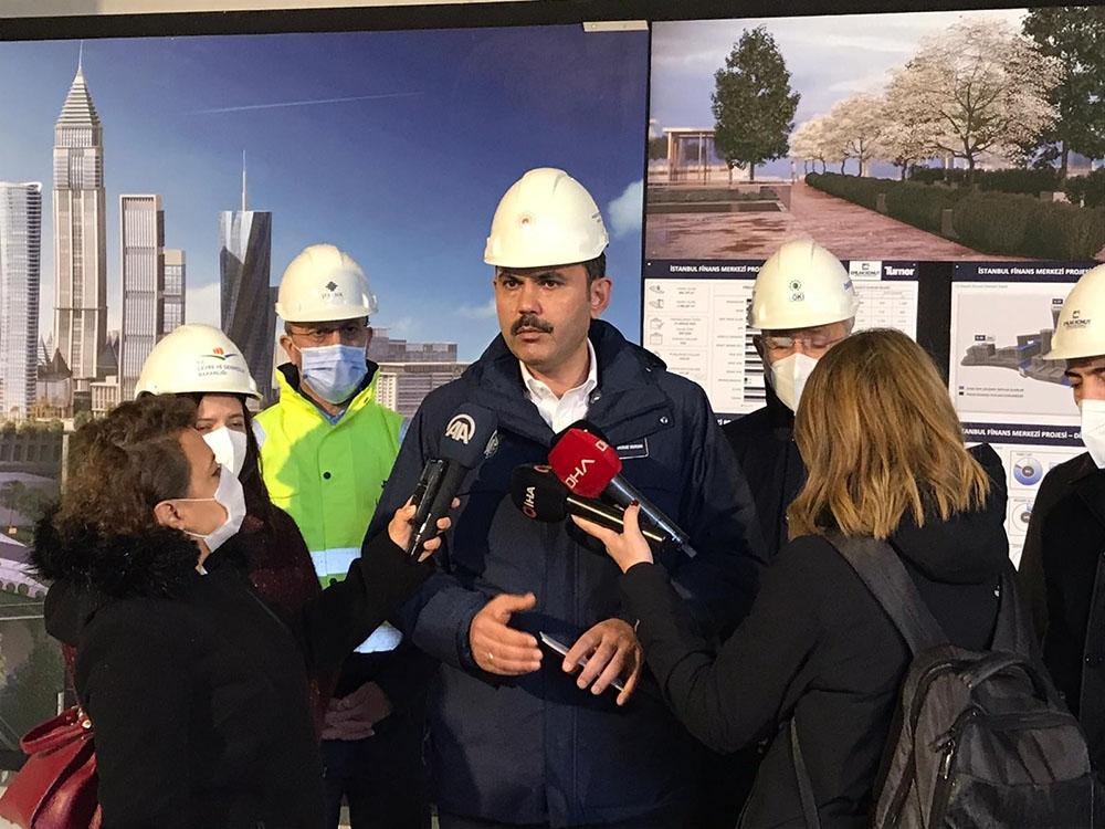 2021 yılı Aralık ayı itibariyle finans merkezi inşaatımızı tamamlamış olacağız