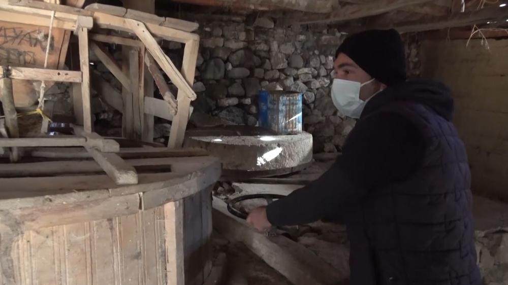 400 yıllık değirmen kuraklığa yenildi