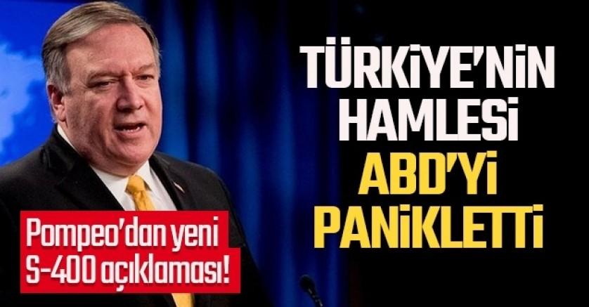 ABD'den Türkiye ve S-400 ile ilgili yeni açıklama!