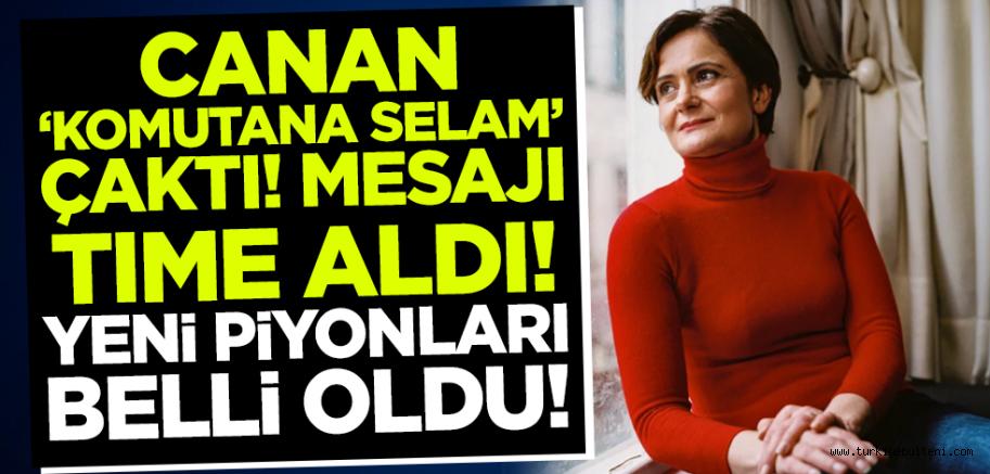 ABD merkezli Time dergisi CHP İstanbul İl Başkanı Kaftancıoğlu'nu parlattı!