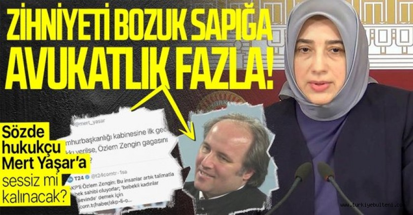 AK Partili Özlem Zengin'e alçak paylaşım!..