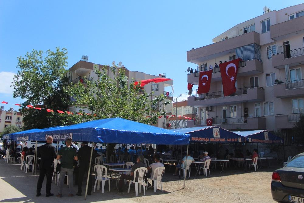 Antalya şehidini uğurluyor