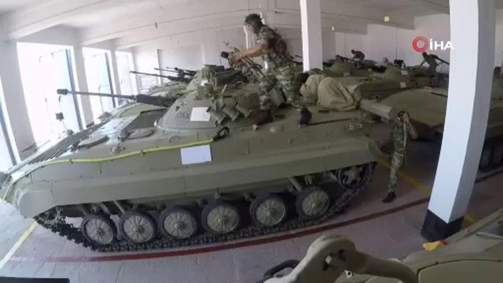 Azerbaycan-Türkiye ortak askeri tatbikatları Nahçıvan'da devam ediyor