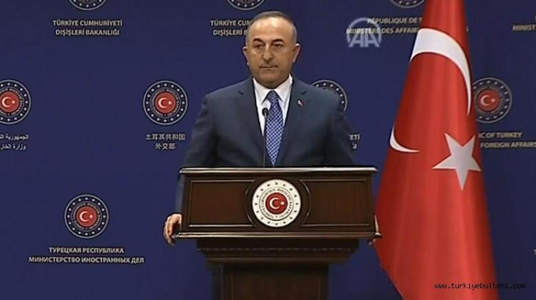 Bakan Çavuşoğlu : Mısır'la kendi aramızda anlaşma imzalayabiliriz