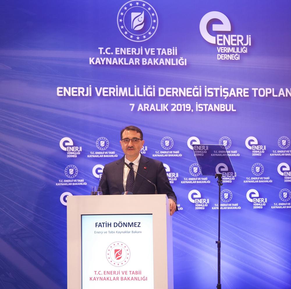 Bakan Dönmez: Kamunun Yıllık Enerji Gideri Yaklaşık 6 Milyar Lira