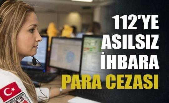 Bakan Soylu: 112Ye Asılsız İhbar Yapana 250 Lira Ceza