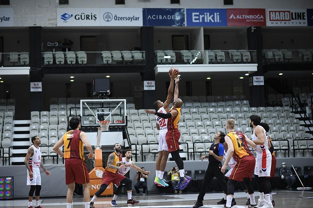 Basketbol Süper Ligi: Bahçeşehir Koleji: 78 - Galatasaray: 95