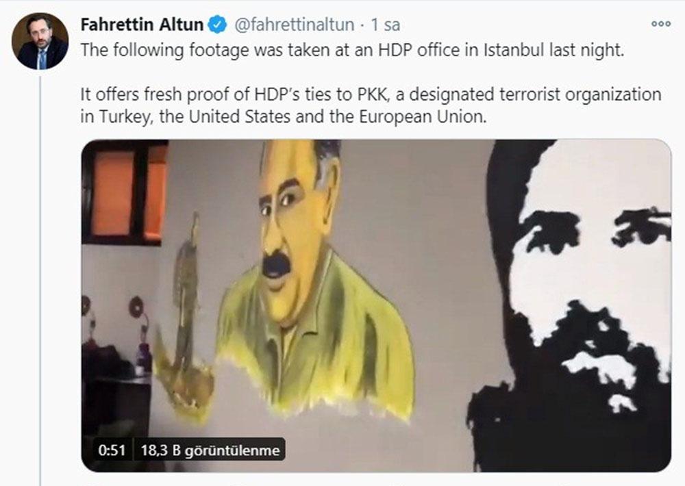 """""""Batı, HDP/PKK yalanlarını yaymayı bırakmalı ve gerçeği söylemeli"""""""