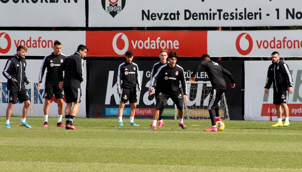 Beşiktaş, Alanyaspor hazırlıklarına başladı
