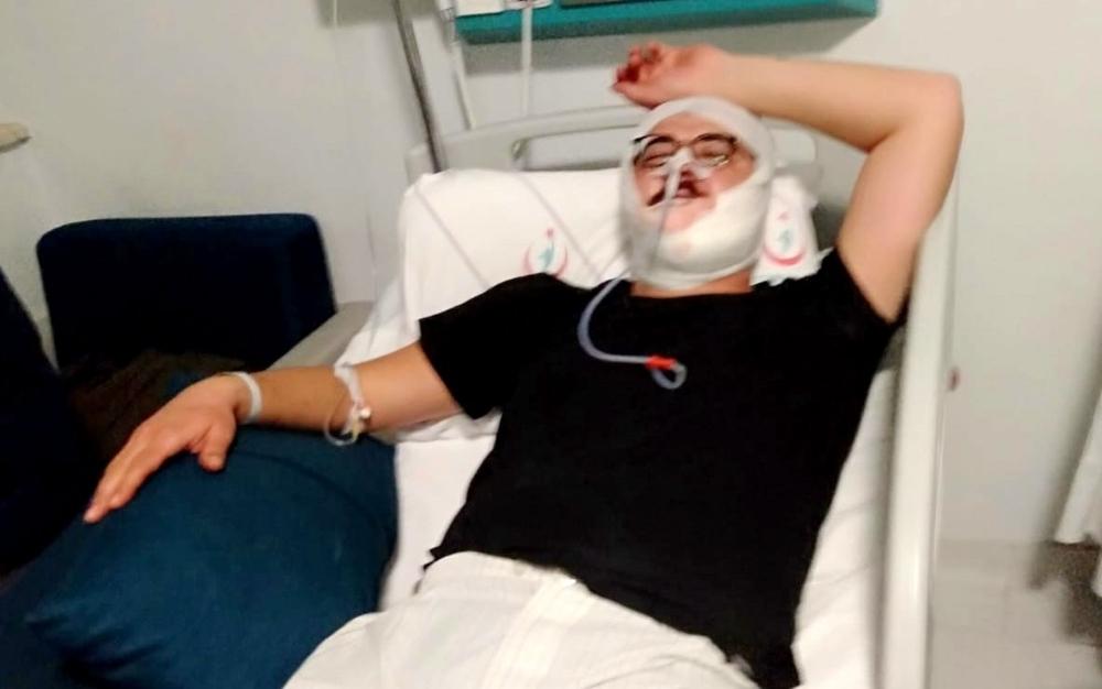 Boks antrenörü tartıştığı şahsı hastanelik etti