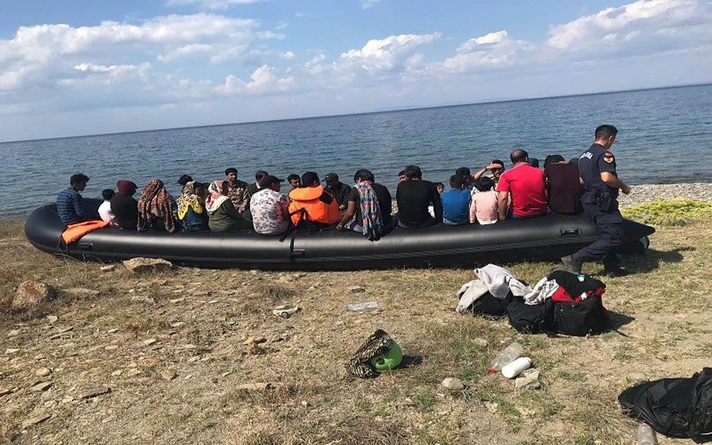 Çanakkalede 310 Mülteci Yakalandı
