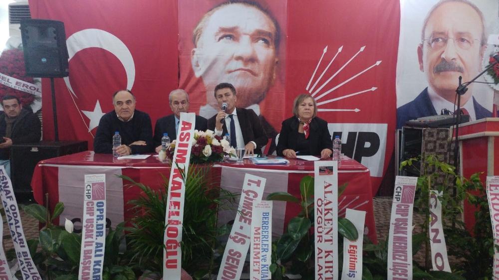 CHP'de gergin kongre