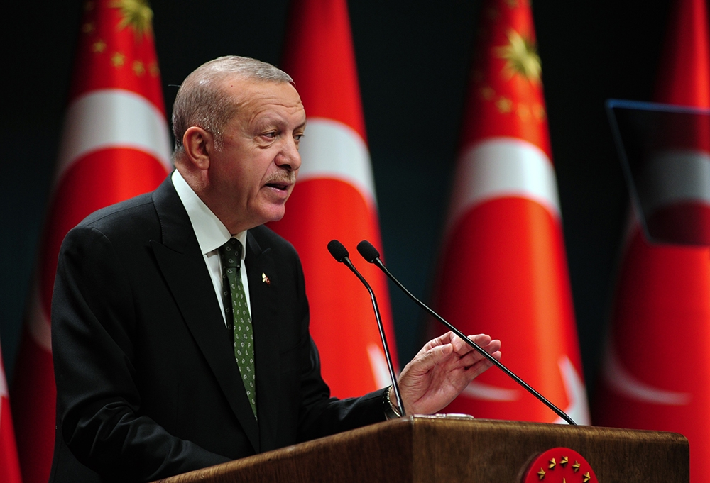 """Cumhurbaşkanı Erdoğan: """"AB ile ilişkilerimizi yeniden rayına oturtmak için hazırız"""""""