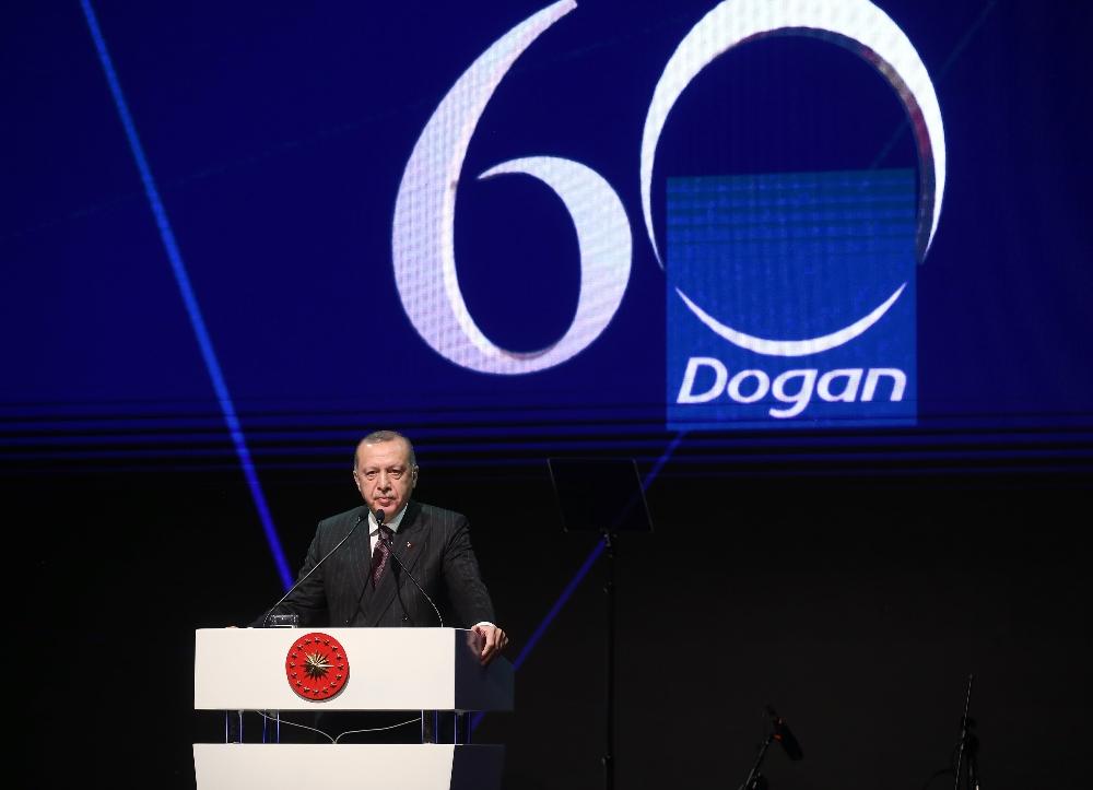 Cumhurbaşkanı Erdoğan, Doğan Grubunun 60. Yıl Kutlamalarına Katıldı