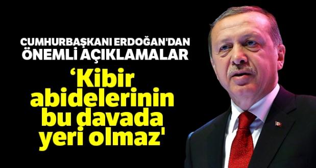 Cumhurbaşkanı Erdoğan: İnsan Gönlünü Kıranların Biz De Kalemini Kırarız