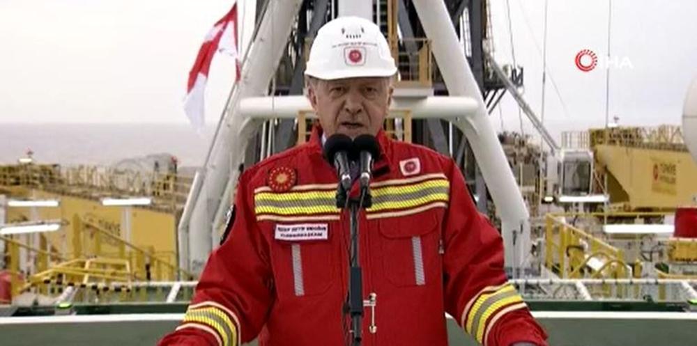 Cumhurbaşkanı Erdoğan Karadeniz'deki yeni doğalgaz rezervini açıkladı