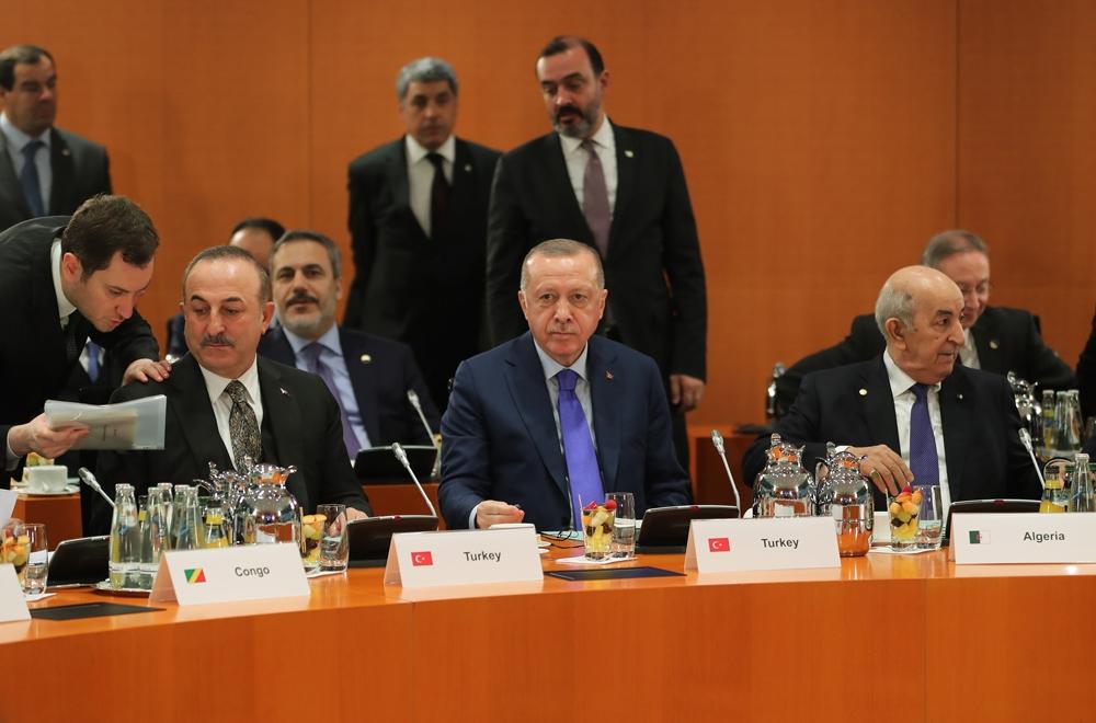 Cumhurbaşkanı Erdoğan, liderlerle aile fotoğrafı çektirdi