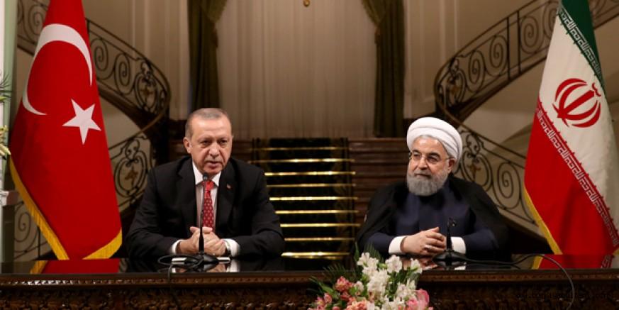 Cumhurbaşkanı Erdoğan ve İranlı mevkidaşı Ruhani ile görüştü