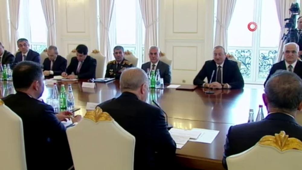 Cumhurbaşkanı Erdoğan Yüksek Düzeyli İşbirliği 8.Toplantısı'na başkanlık etti