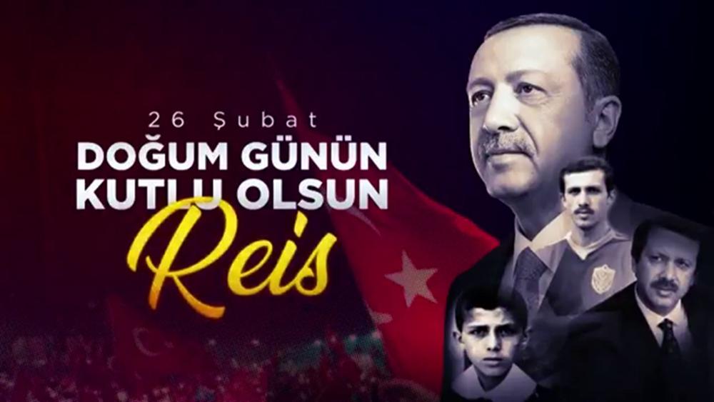 Cumhurbaşkanı Erdoğan'a özel doğum günü videosu