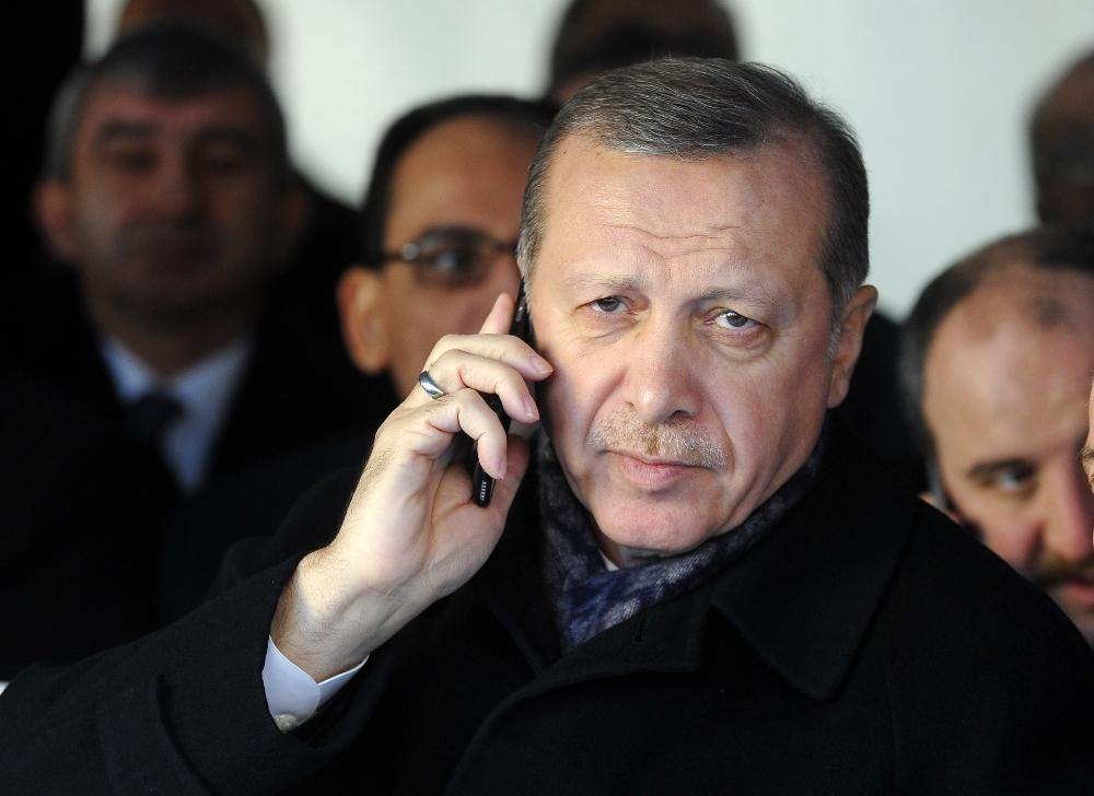 Cumhurbaşkanı Erdoğandan Cezayir Cumhurbaşkanına Tebrik Telefonu