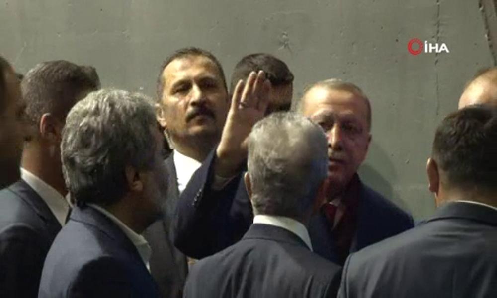 Cumhurbaşkanı Erdoğandan Tebrik