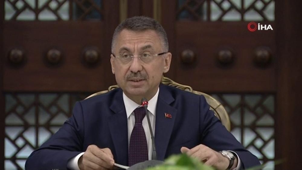 Cumhurbaşkanı Yardımcısı Oktay Ab Komisyonu Başkan Yardımcısı Schinası Kabul Etti