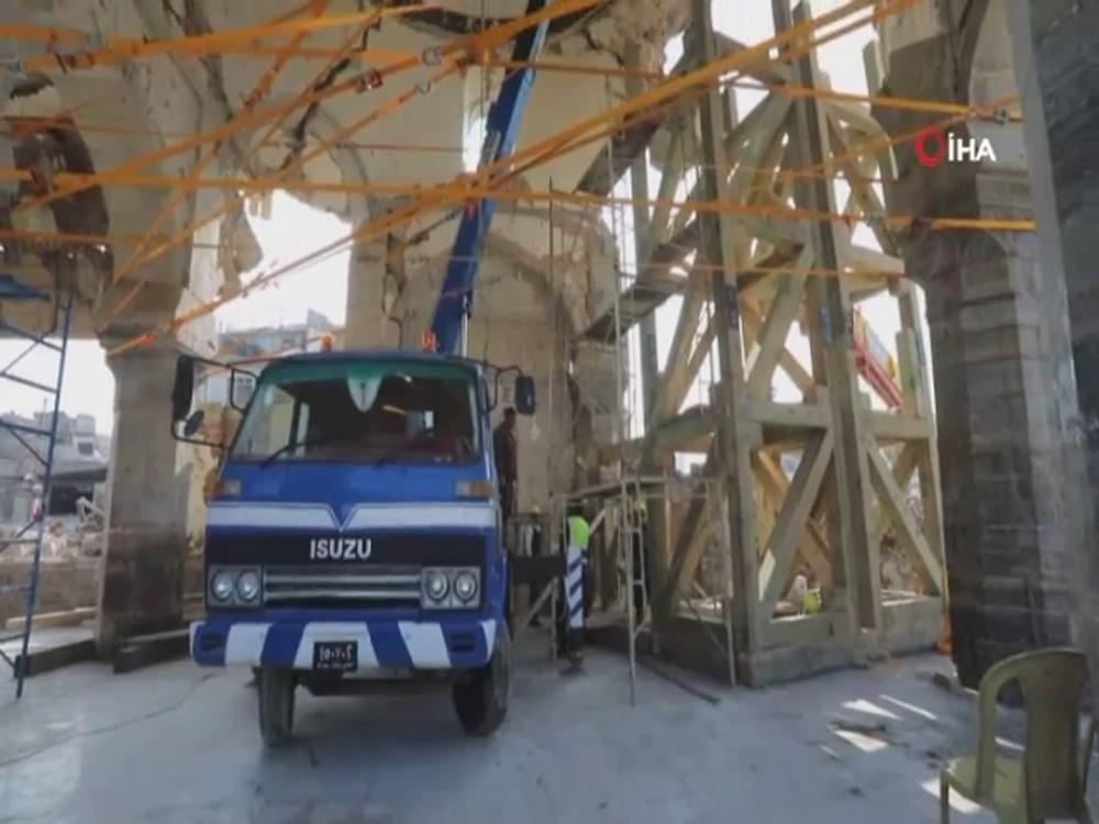 Deaşın Havaya Uçurduğu El Nuri Camii Yeniden Onarılıyor