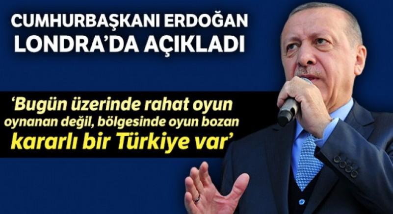 Erdoğan: 'Bugün 17 yıl öncesine göre daha güçlü bir Türkiye var'