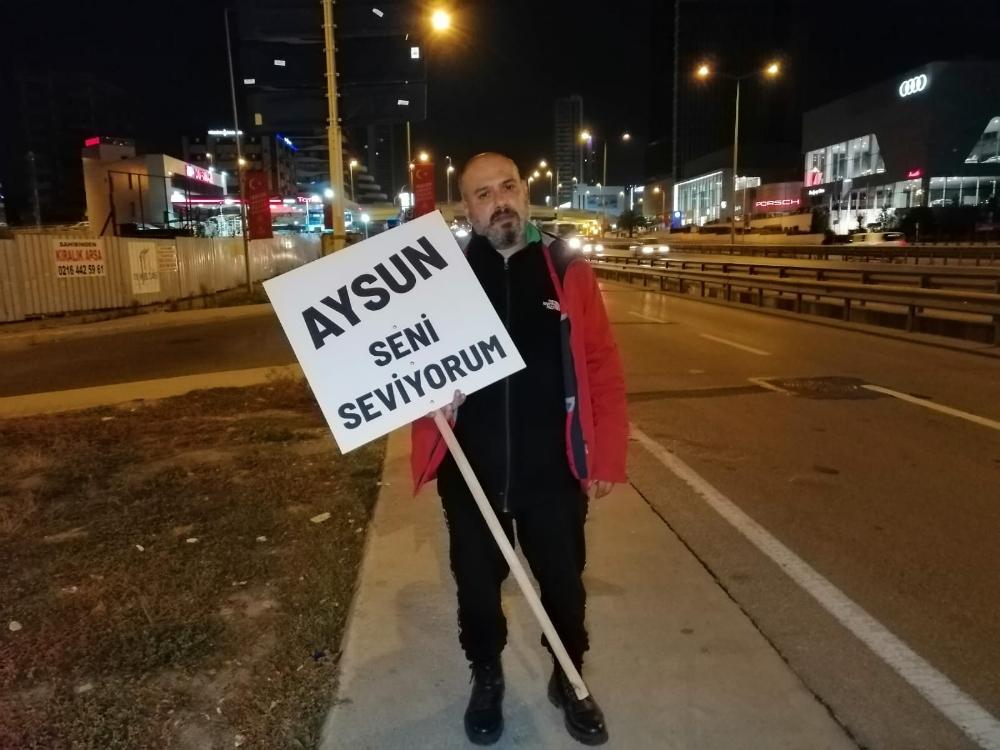 Eşiyle Barışabilmek İçin İstanbuldan Ankaraya Yürüyor