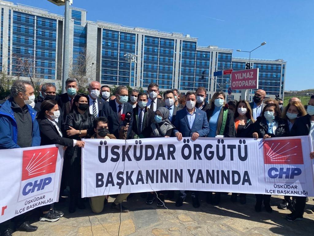 Fahrettin Altun'un evinin fotoğrafını çeken CHP Üsküdar İlçe Başkanı hakim karşısına çıktı