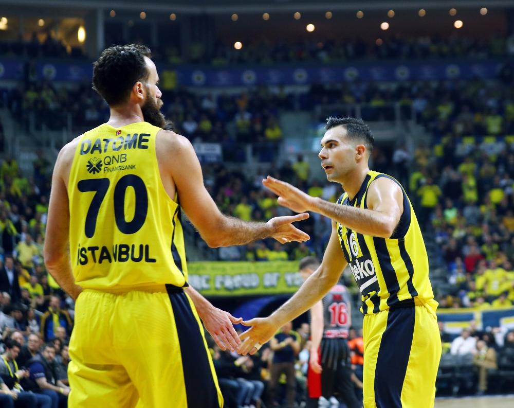 Fenerbahçe Beko, Armani Milan'a fırsat vermedi