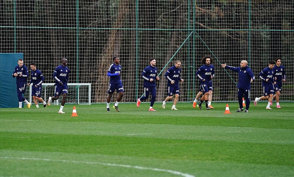 Fenerbahçe, Fatih Karagümrük maçı hazırlıklarını sürdürdü