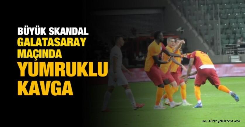 Galatasaray'da Marcao-Kerem Aktürkoğlu kavgası