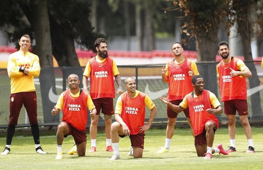 Galatasaray'da Çaykur Rizespor mesaisi sürüyor