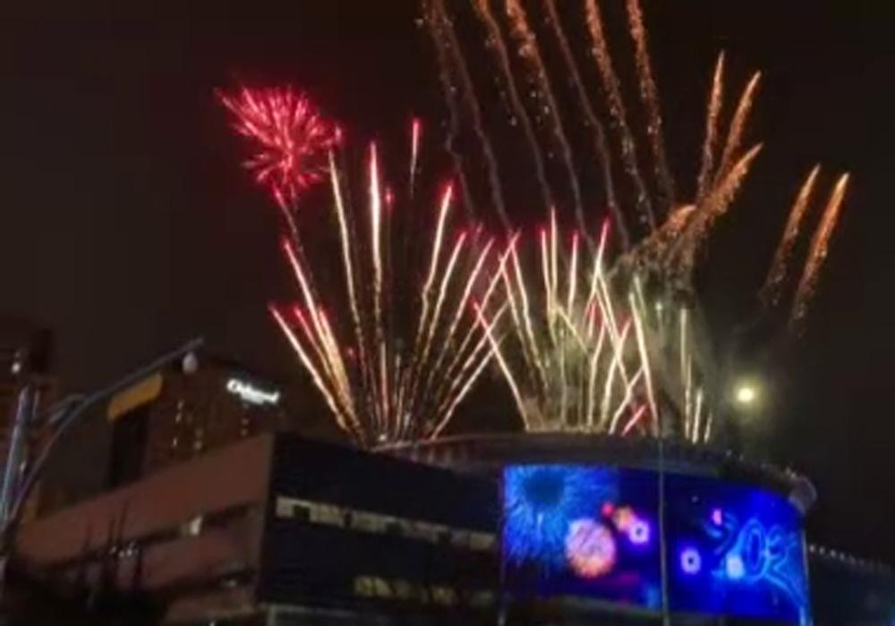 Güney Kore Yeni Yıla Işıl Işıl Girdi