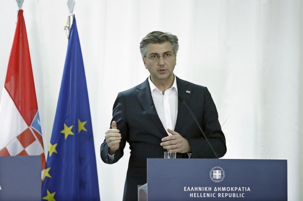 """Hırvatistan Başbakanı Plenkovic: """"Hırvatistan, Yunanistan'dan mülteci çocukları almaya hazır"""""""
