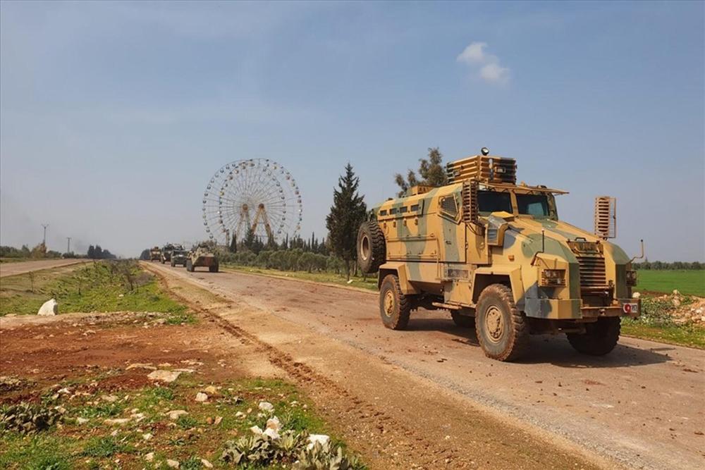 İdlib'de ilk Türk-Rus devriyesi icra edildi