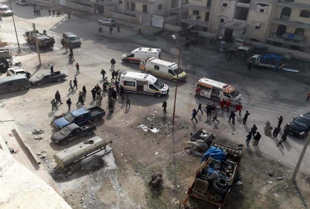 İdlib'de rejim saldırısı: 11 ölü, 13 yaralı