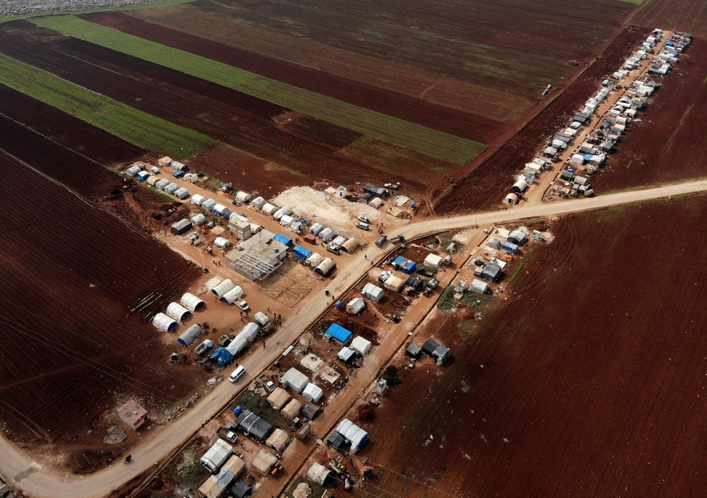 İdlib'in Sarmada kırsalında insanlık dramı