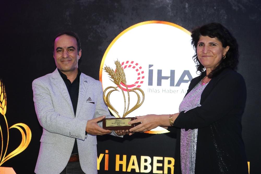 İhaya Yılın En İyi Haber Ajansı Ödülü
