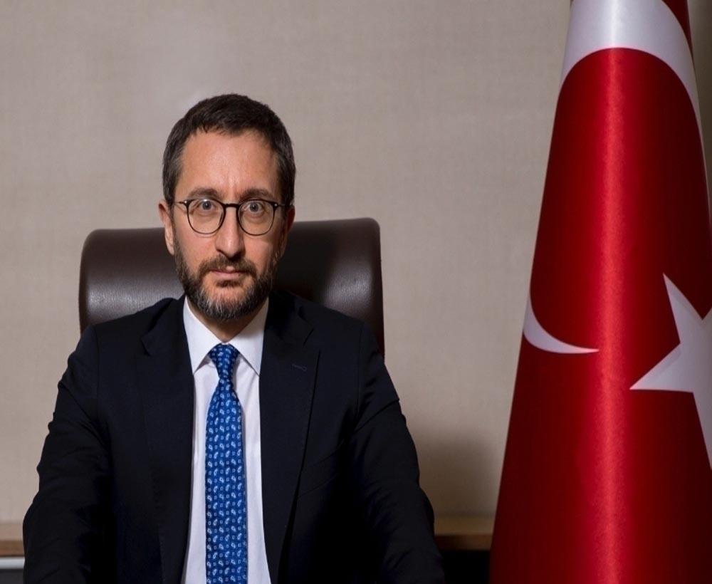 """İletişim Başkanı Altun: """"Türkiyenin Sınırları, Natonun Sınırlarıdır"""""""
