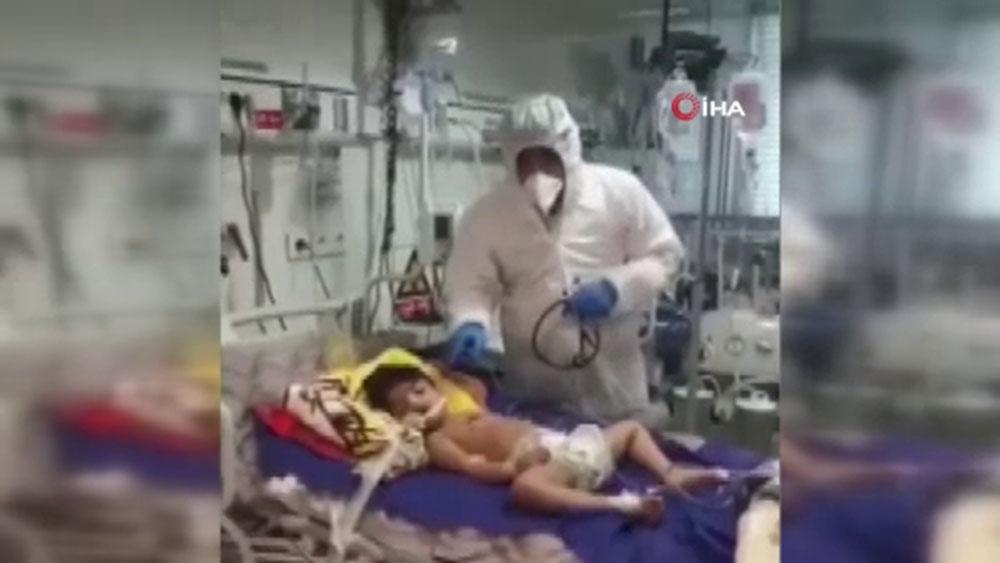 İran'da 5 yaşındaki çocuğa koronadan korusun diye sahte alkol içirdiler