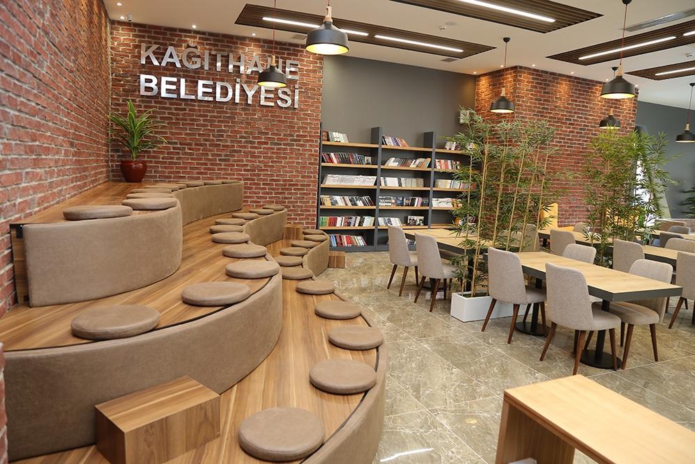 İstanbul'da 10 bin kitaplı millet kıraathanesi açılıyor