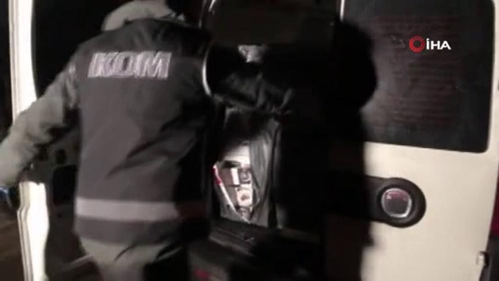 İstanbul'da kaçak sigara operasyonu: 11 gözaltı
