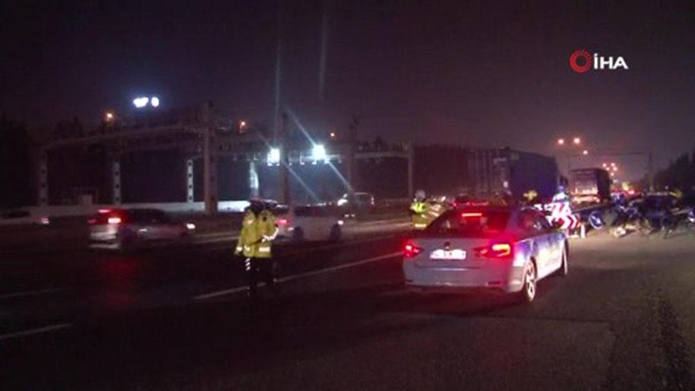 İstanbul'da sokağa çıkma kısıtlamasına 2 saat kala trafik yoğunluğu yüzde 81'ler çıktı