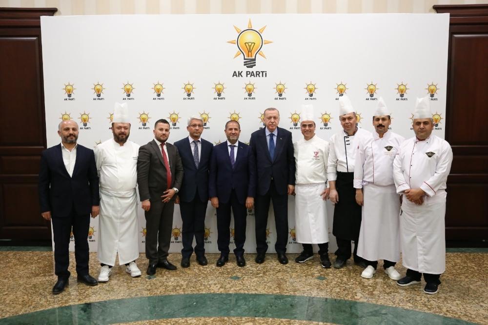 Kahramanmaraş Mutfağı Cumhurbaşkanı Erdoğanın Beğenisine Sunuldu
