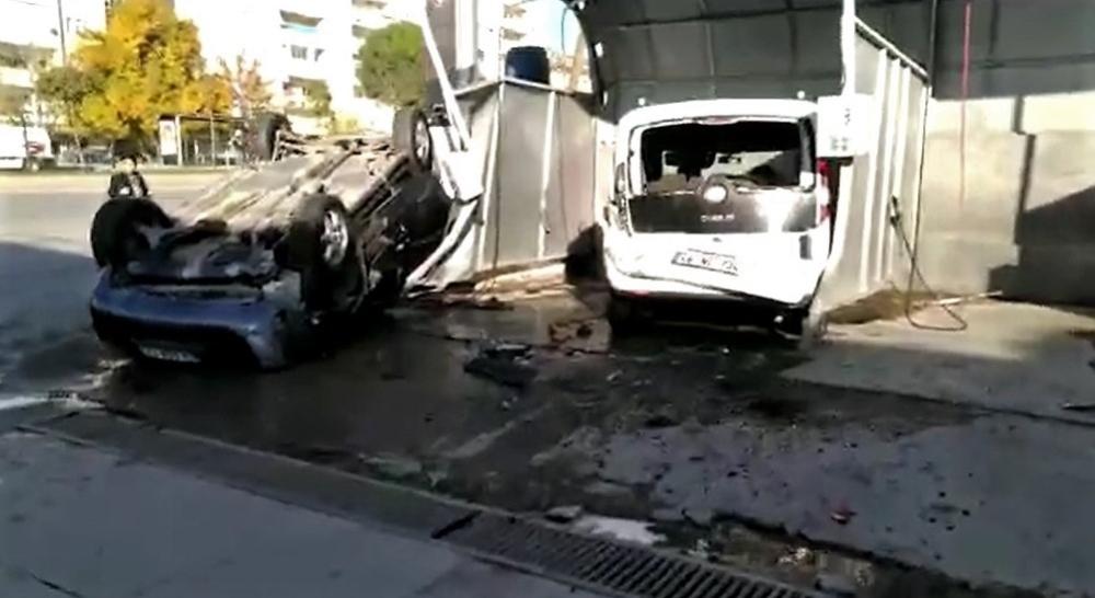 Kahramanmaraşta Trafik Kazası: 2Si Çocuk 3 Yaralı