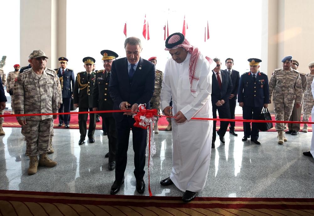 Katar Türk Birleşik Müşterek Kuvvet Komutanlığı Karargahı Açıldı