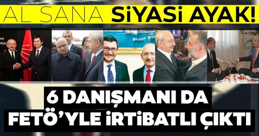 Kemal Kılıçdaroğlu'nun 6 danışmanı FETÖ'den transfer